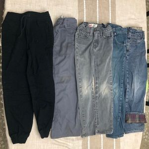 5 pairs of kids size 10 pants